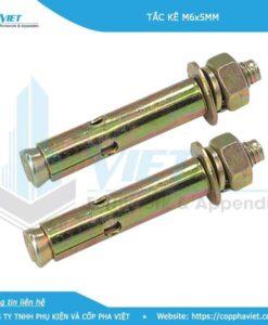 Tắc kê sắt M6x500 dùng cho thép râu tường hình 1
