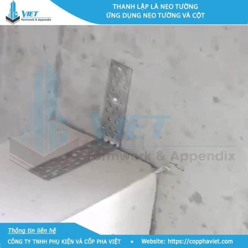 Bát neo tường gạch nhẹ ACC loại 300x30x1 hình 1
