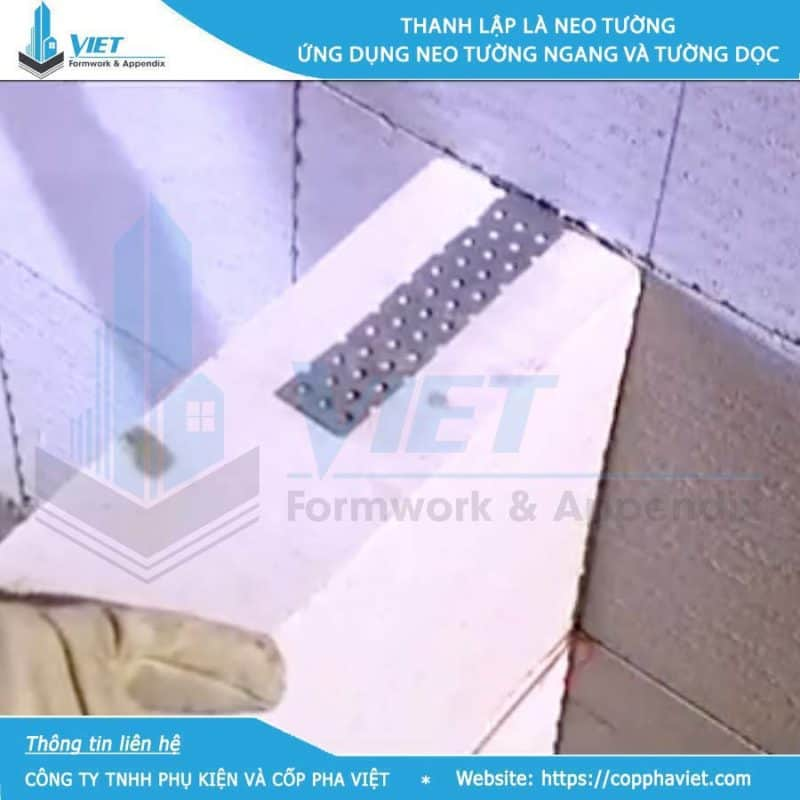 Bát neo tường gạch nhẹ ACC loại 300x30x1 hình 3