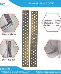 Bát neo tường gạch nhẹ AAC 250x30x1