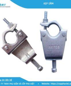 Kẹp dầm phi 48.3 độ mở từ 75mm đến 80mm
