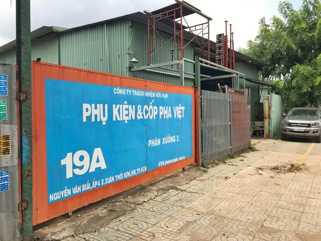 Công ty Cốp Pha Việt