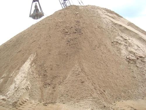 cát xây nhà
