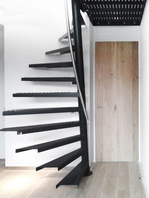 kiểu cầu thang tiết kiệm diện tích 3