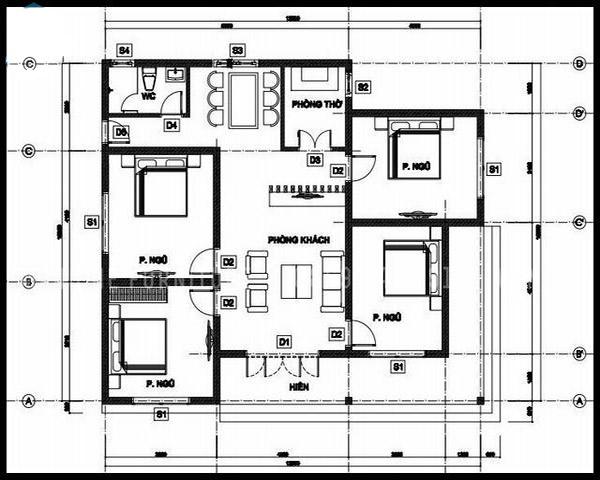 Cách sắp xếp, phân chia bố cục trong căn nhà mang đến sự thoải mái, tiện nghi