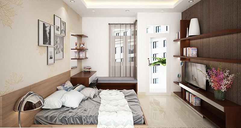thiết kế nhà 40m2 3 tầng 20