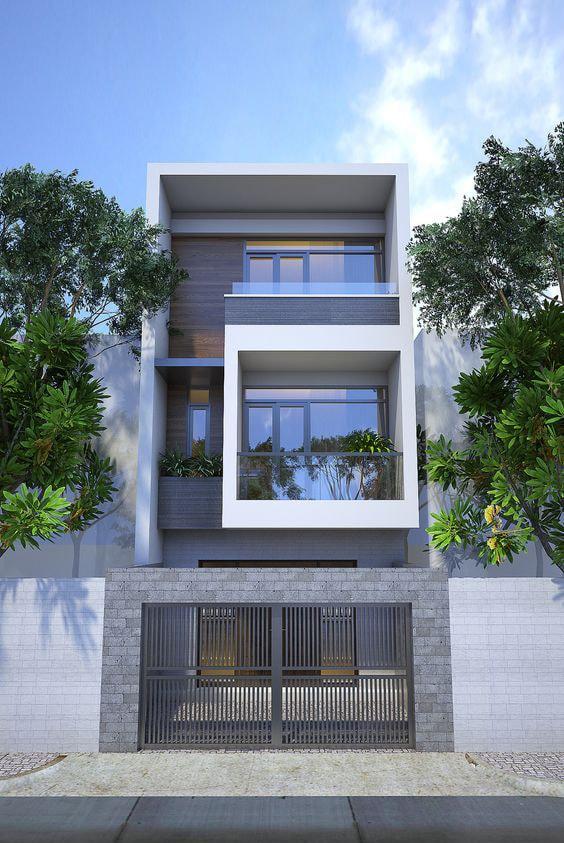 thiết kế nhà 40m2 3 tầng 3