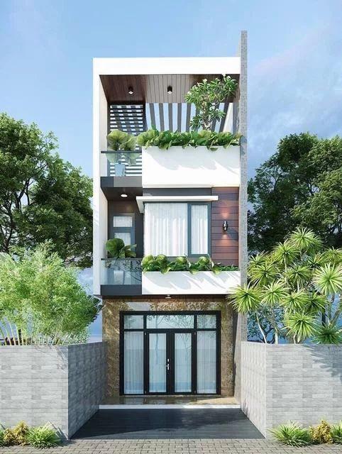 thiết kế nhà 40m2 3 tầng 5